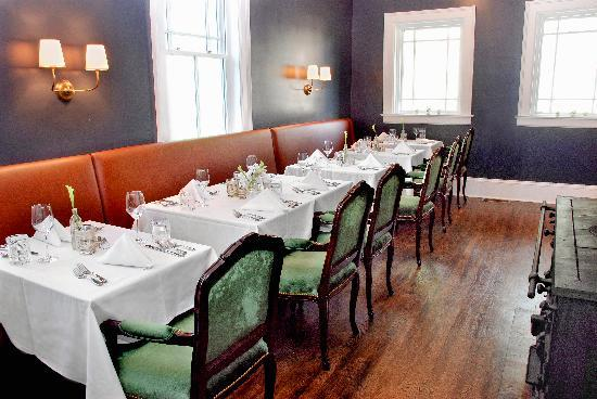 The Kemble Inn : Intimate dining inside our new dinining room