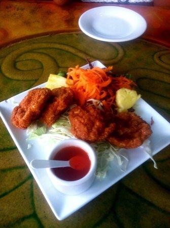 Tara Thai: shrimp cakes