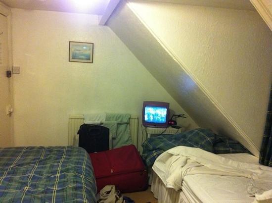 Aviemore Guest House: la télé qui ne fonctionne pas