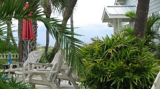 Gulfside Resorts: View from downstairs patio