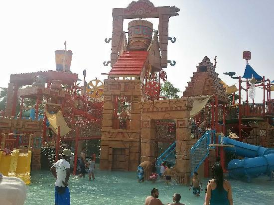 Atlantis, The Palm: Kids section in Aquaventure. Better than the kids section in Sunway Lagoon, Malaysia!
