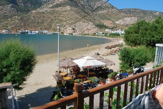 Stavros Hotel : View from balcony