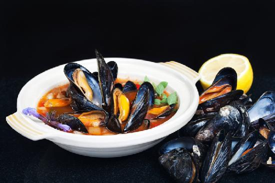 Oscar's Seafood Bistro: Fresh Galway mussels