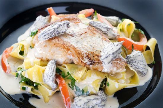 Oscar's Seafood Bistro : meal at Oscars