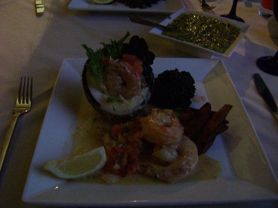 Pago Pago : Coconut shrimp