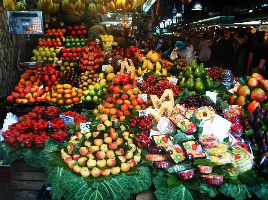 El Palace Hotel: Fruit!
