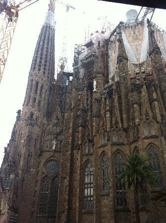 El Palace Hotel: La Sagrada Familia