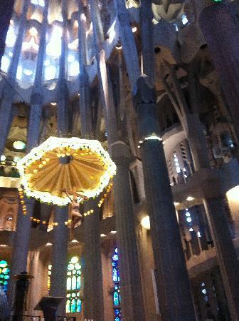 El Palace Hotel: Inside La Sagrada Familia