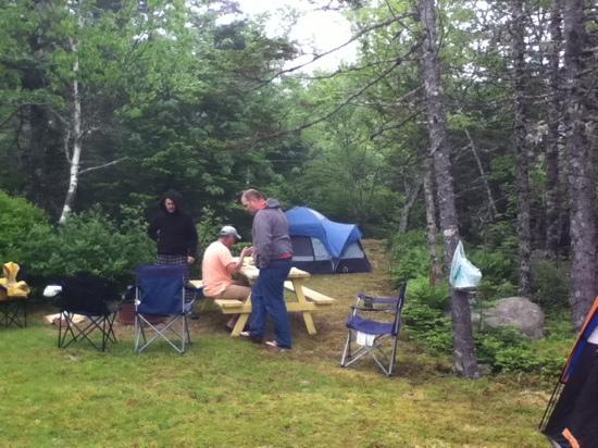 Spry Bay Campground : site20