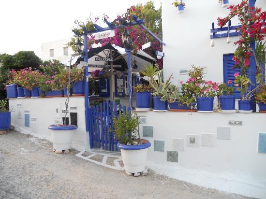 Villa Galini entrance