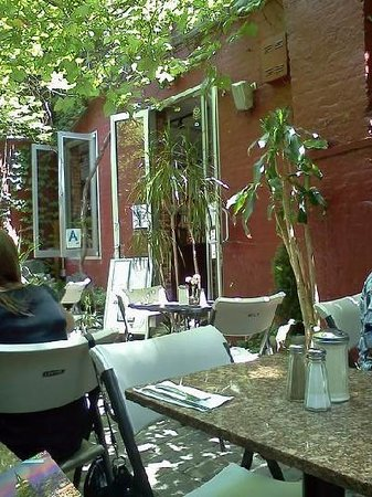 Photo of Italian Restaurant Cloister Cafe at 238 E 9th St, New York, NY 10003, United States
