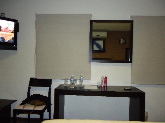 Terrasse Hotel: el tocador