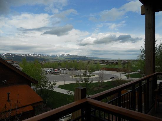 Teton Springs Lodge and Spa: View from our balcony in the lodge