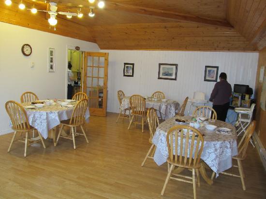 Triple Rose Bed & Breakfast: Triple Rose B&B dining room