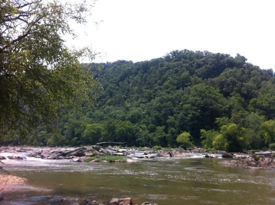 Boone, Carolina del Norte: take out point on French Broad