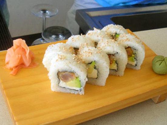 DCO Gourmet Restaurant: Japanese rolls!