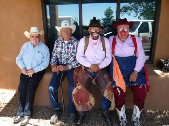 ‪إن آت سانتا في: Great place for meeting - 2011 Rodeo Clown Reunion, Santa Fe Rodeo‬