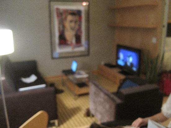 SoHo Metropolitan: living room