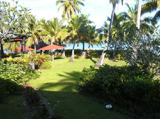 Labasa, Fiji: outlook from Bure 1