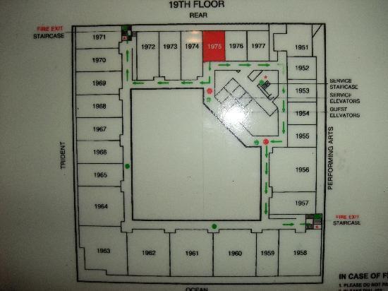 أوبروي مومباي: floormap