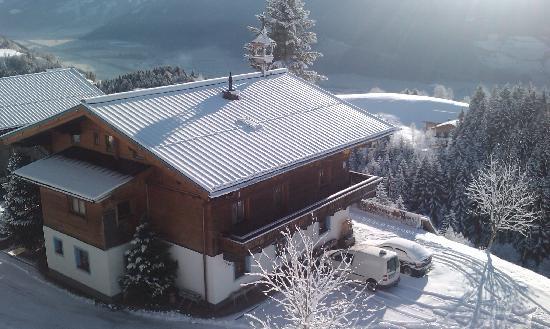 Biobauernhof Hochwimm: Hochwimmhof im Winter
