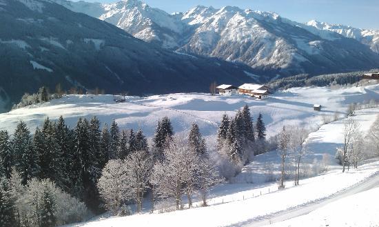 Mittersill, النمسا: Blick im Winter