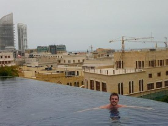 Le Gray Beirut: rooftop pool