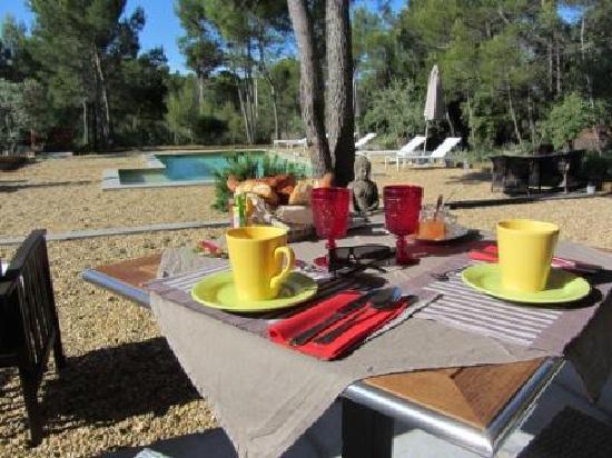 Breakfast at Villa Josephine