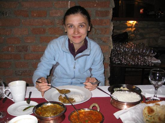 Lal Qila - The Indian Restaurant : Me and delicious food