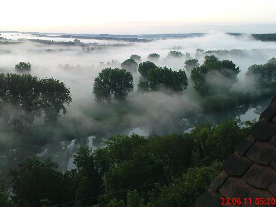 Hotel Neckarblick: Änderungen nach ein paar Minuten während des Sonnenaufgangs