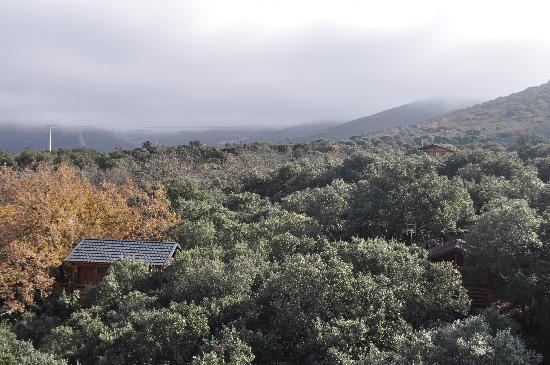 Ecolodge de Cabaneros: Vista aérea del ecolodge
