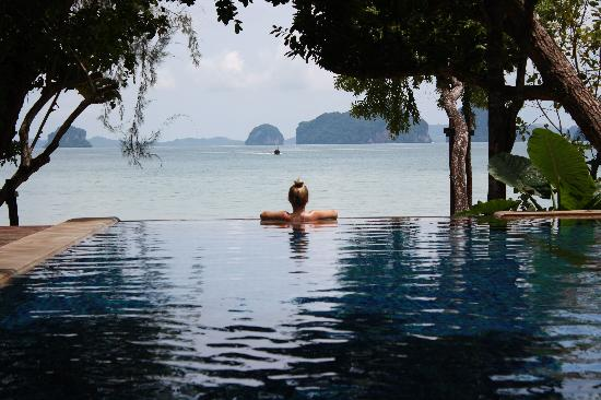 Nong Thale, Tajlandia: Private Pool