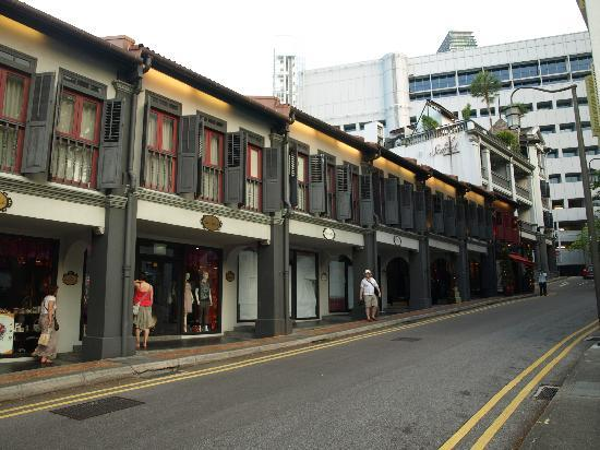The Scarlet Singapore: façade