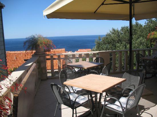 View from Villa Klaic