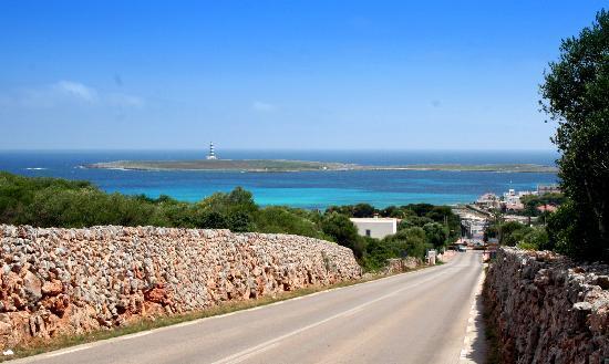 Occidental Menorca : La vista di Punta Prima