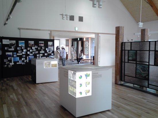 Sarobetsu Marsh Center: 屋内展示の様子