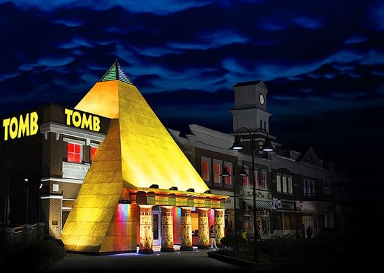 Tomb Egyptian Adventure: Tomb, Pigeon Forge