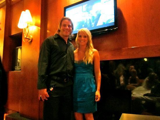 Auburn Hills Marriott Pontiac: In the lobby bar.