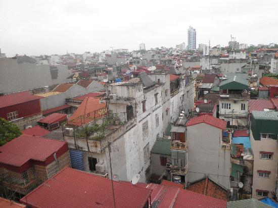 Hong Ngoc Tonkin Hotel: View from the window