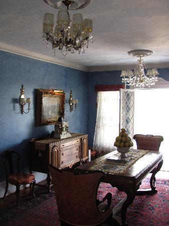 Belvedere Mansion: interior