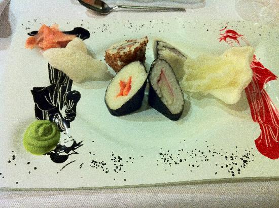 Orange County Resort Hotel Alanya: Sushi in Asian Restaurant