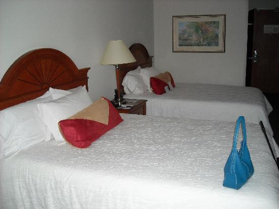 Hilton Garden Inn Houston/The Woodlands: Comfprtable Beds