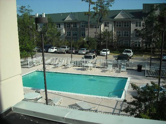 Hilton Garden Inn Houston/The Woodlands : View from our room