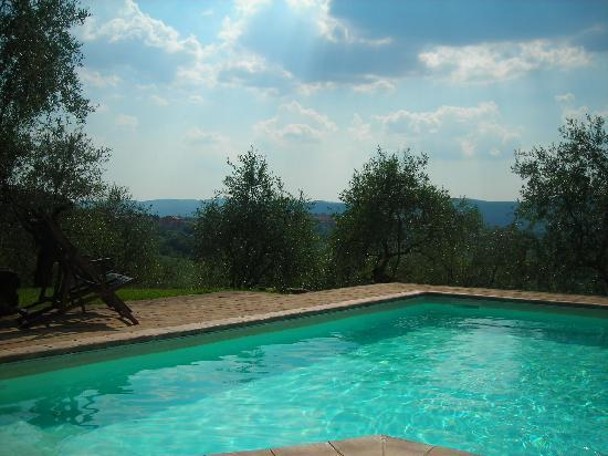 L'Aia Country Holidays: swimming pool and surrounds
