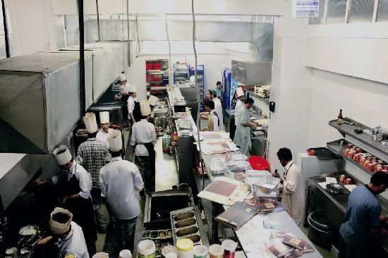 Celeste' Restaurant and Cafe': Kitchen