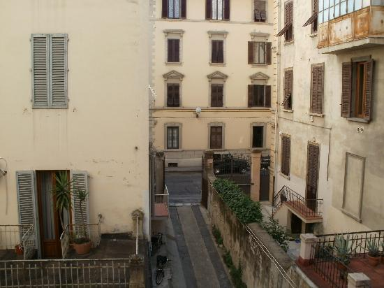 La Notte Blu: View from the shared balcony
