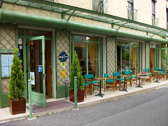 Meyrueis, Frankrike: le restaurant