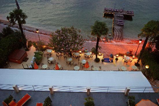 Beach Hotel Du Lac: Blick vom Balkon auf den See