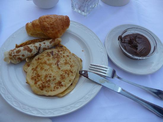 Rodos Princess Beach Hotel: petit dej