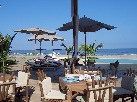 La Posada de los Tumpis: desayuno junto al mar